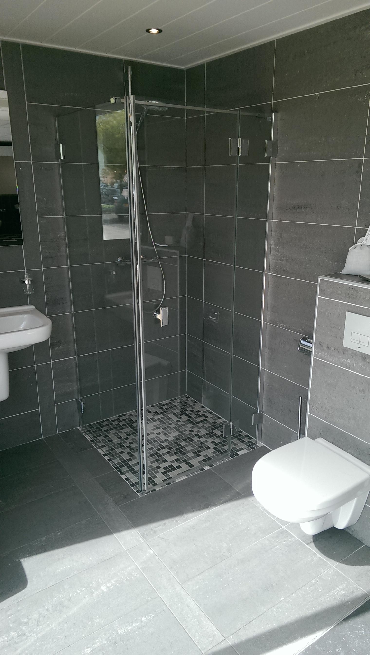 compleet nieuwe badkamer bolink bouw en advies